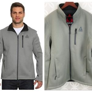 Gerry Full Zip Ribbed Textured Fleece Jacket